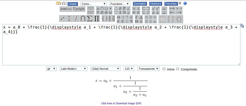 Alternativa para editor de equações Latex online