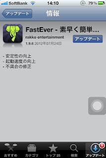 FastEver 更新情報