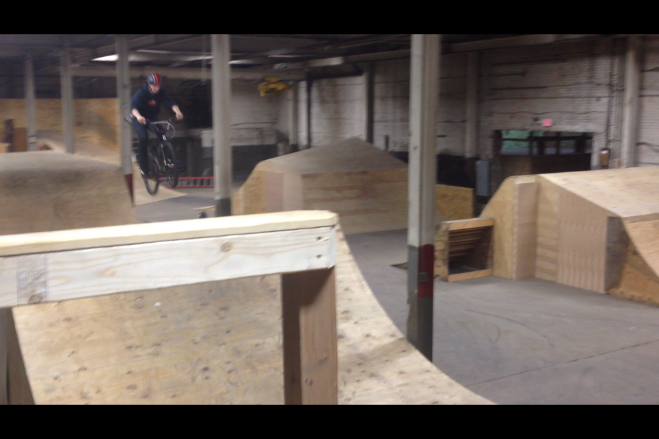 Wheel Mill Bmx These Jumps at The Wheel Mill