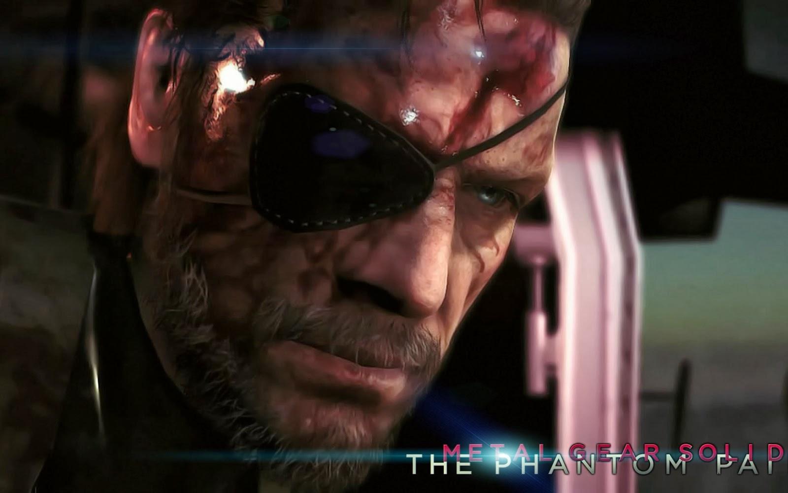 Metal Gear Solid 5 The Phantom Pain Wallpaper