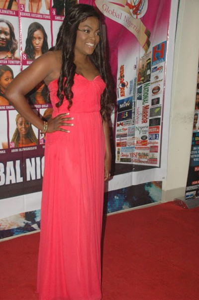 funke akindele divorce red carpet