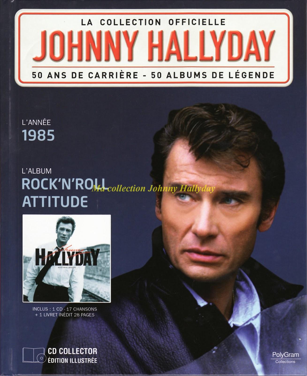 ma collection johnny hallyday cd dvd vinyls livres etc johnny hallyday 1985 rock 39 n. Black Bedroom Furniture Sets. Home Design Ideas
