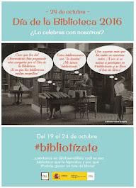 #bibliotízate, del 19 al 24 de octubre