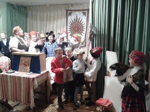 Традиции праднования Нового года и Рождества. Занятие в музее Л.Н.Толстого.
