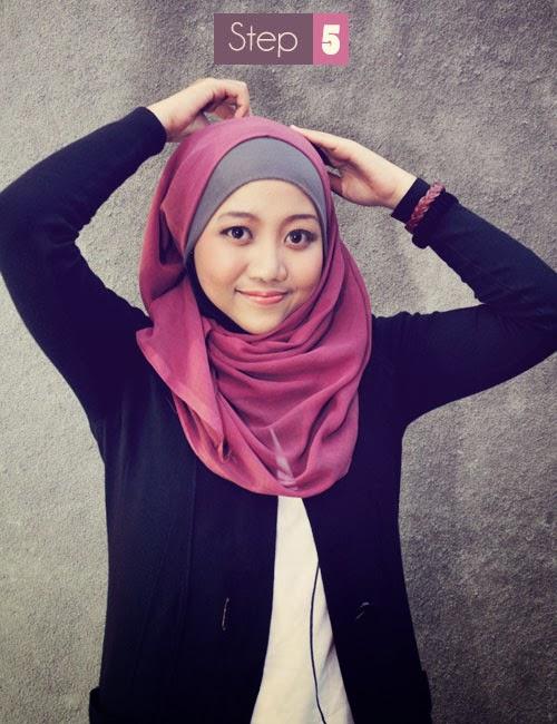 Cara Mudah Memakai Jilbab Modern Terbaru