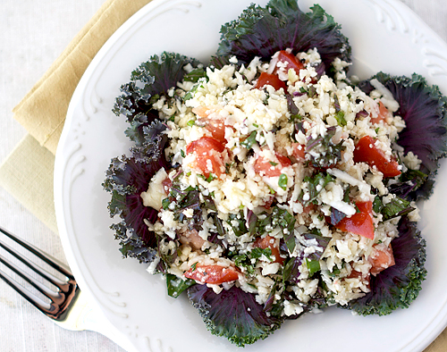 Cauliflower Kale Salad