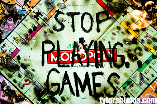 please stop playing games