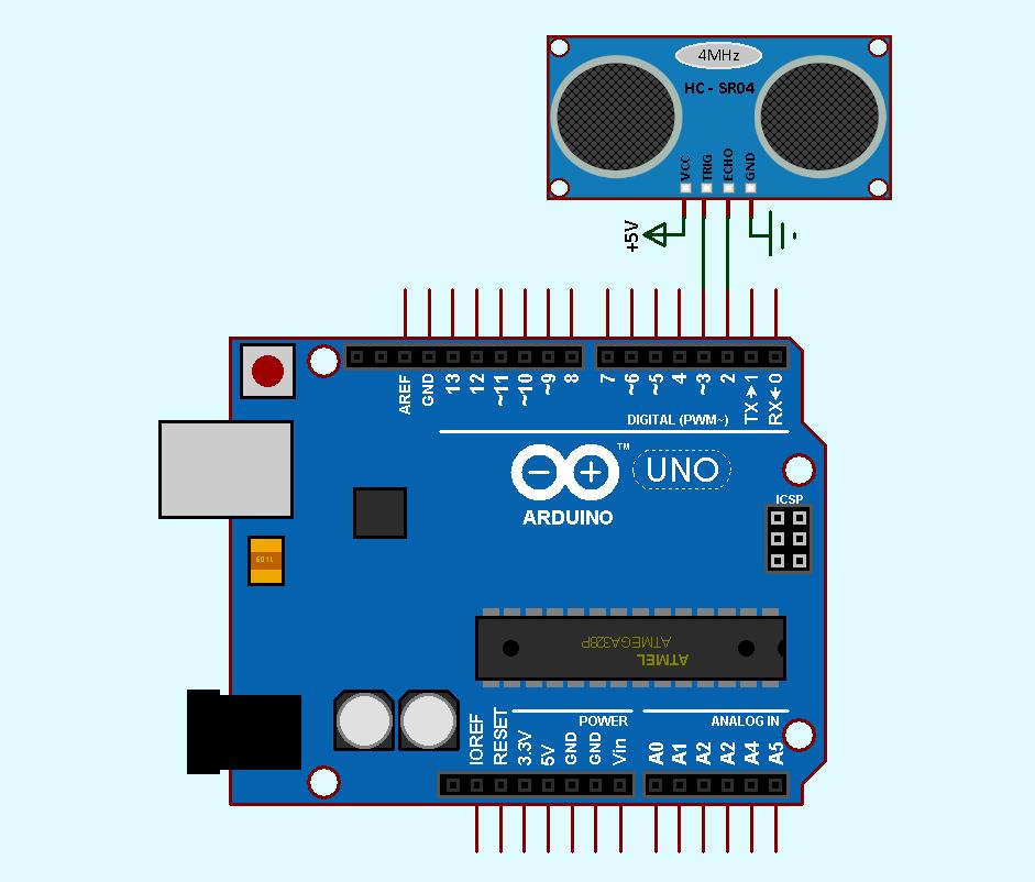 HC-SR04 Ultrasonic Arduino Library Freecode