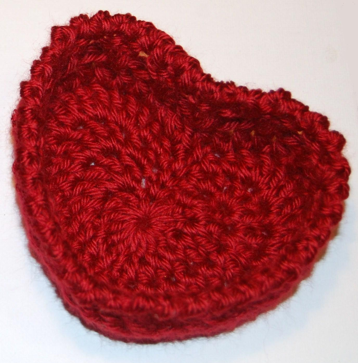 Hugs and kisses heart basket crochet pattern petals to picots crochet heart basket for valentines day bankloansurffo Images