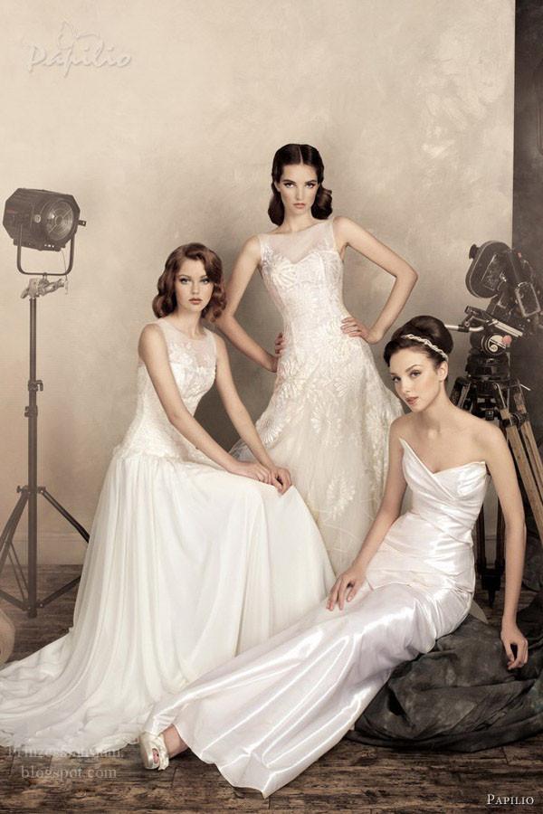 Brautkleider von Papilio für 2013