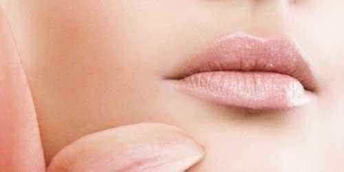 maquillaje de labios nude
