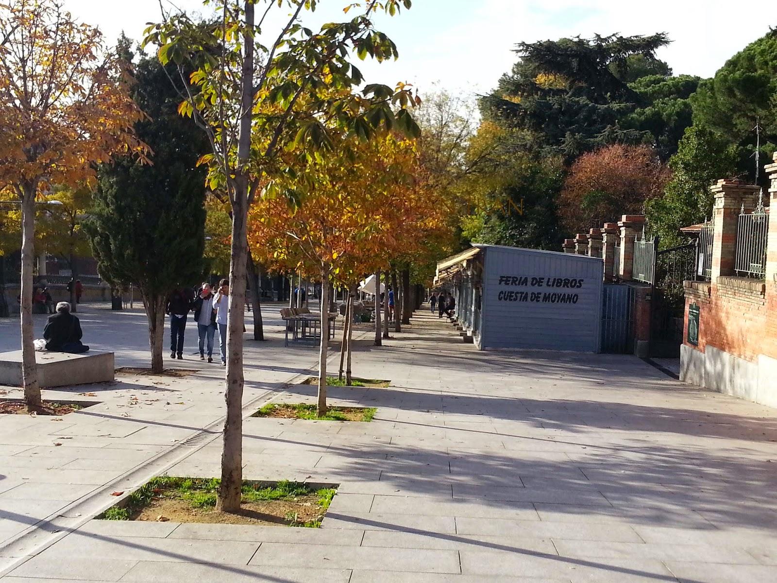 El Retiro en Otoño. Madrid me mata... pero no siempre.