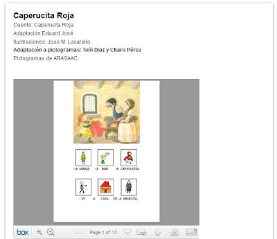 http://cuentoscancionespicto.blogspot.com.es/2011/05/caperucita-roja.html