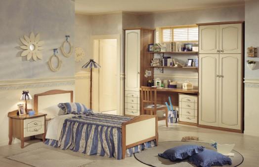 Dormitorios estilo cl sico para ni as dormitorios con estilo - Alfombra habitacion nina ...