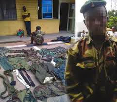 FAKE MILITARY MEN ARRESTED FOR ROBBERY