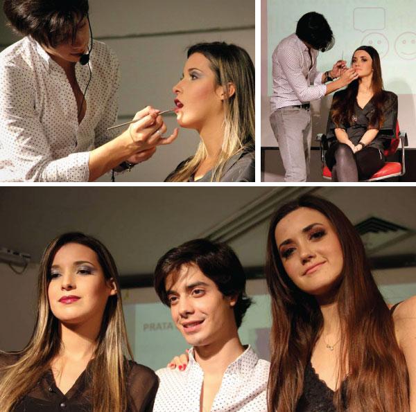 workshop de maquiagem em Belo Horizonte - Vult e Lojas Rede - maquiador Paul Asssumpção