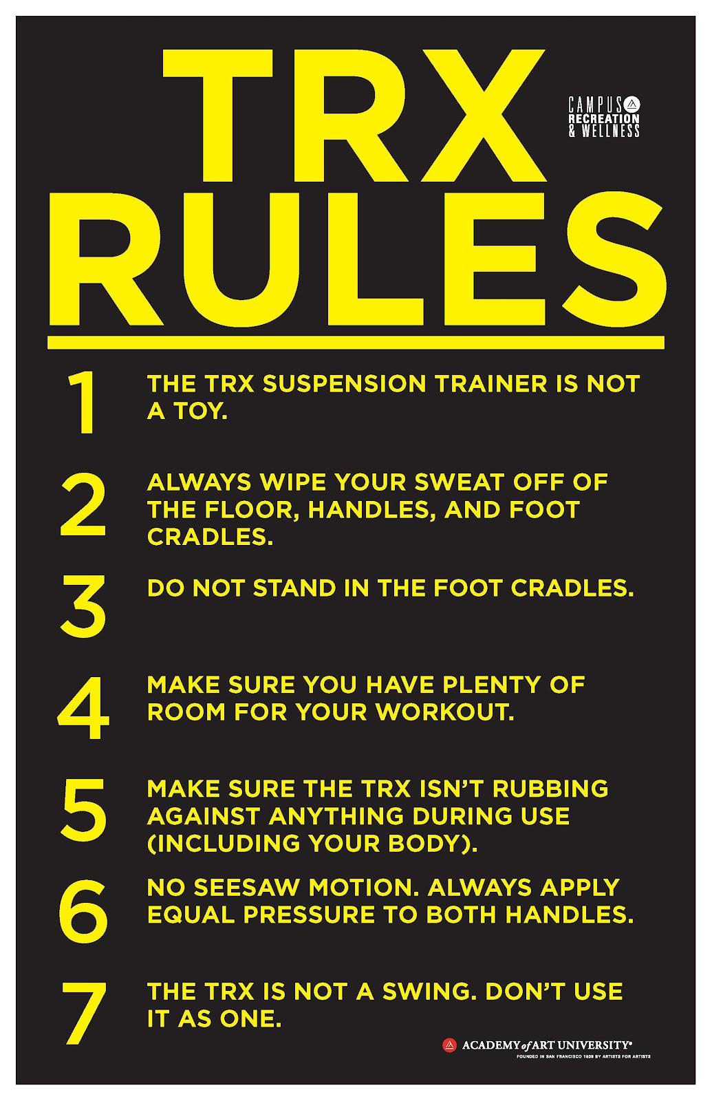 TRX Rules