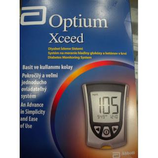 Optium Şeker Ölçüm Cihazı
