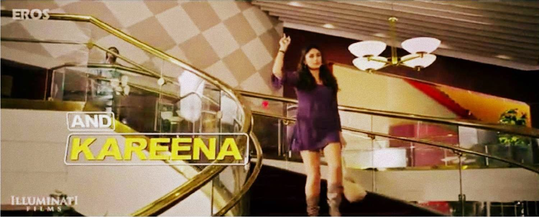 Saif Ali Khan and Kareena Kapoor in Happy Ending movie still