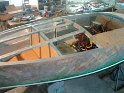 Current Project: New Construction on 16&#39; Gar Wood Speedster Replica