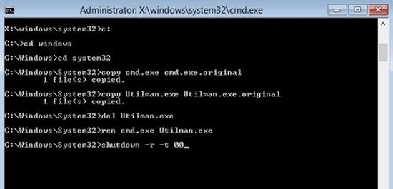 Cách reset mật khẩu trong windows 8-Phần 1