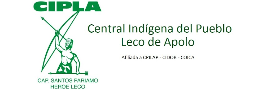 Central Indigena del Pueblo Leco de Apolo