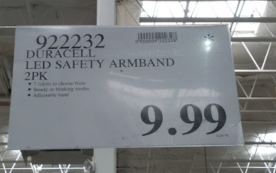 Deal for the Duracell LED Safety Armband Light at Costco