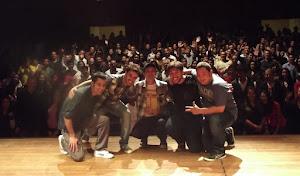 Dividindo o palco com Fernando Strombeck, Pedro Lemos, Kim Archetti e Diego castro
