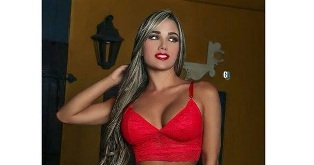 Las bellas y sexys daniela gutierrez en ropa interior for Ropa interior roja