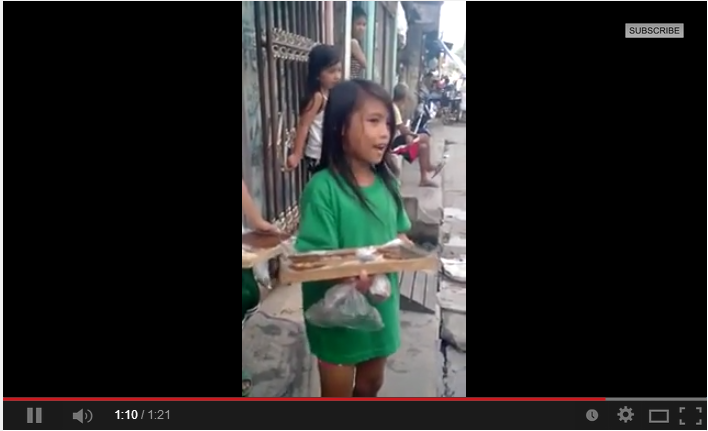 Singing Bibingka Street Vendor