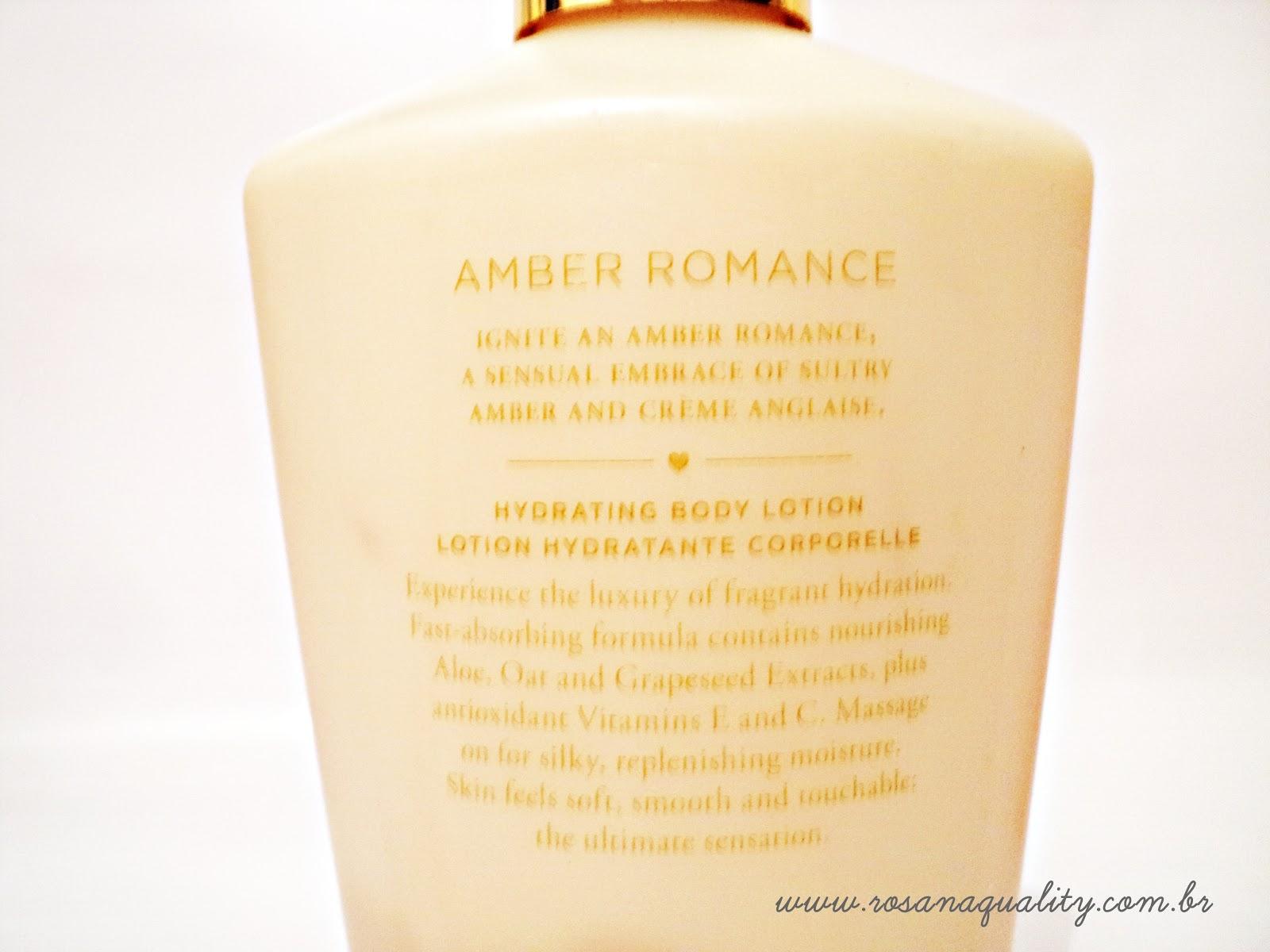 Amber Romance Victoria's Secrets