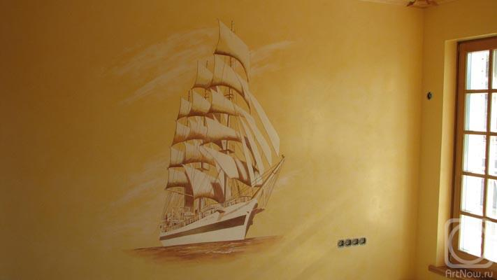 Корабль на стену своими руками 46