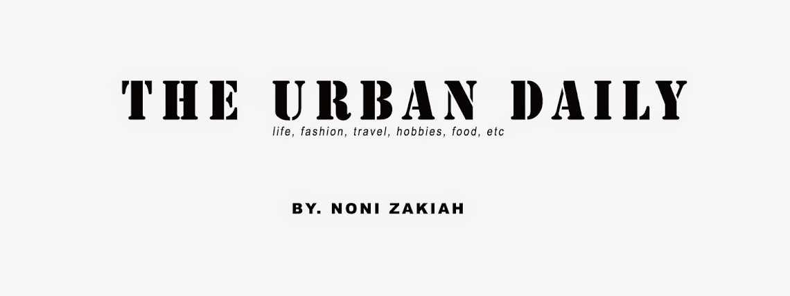 THE URBAN DAILY by Noni Zakiah