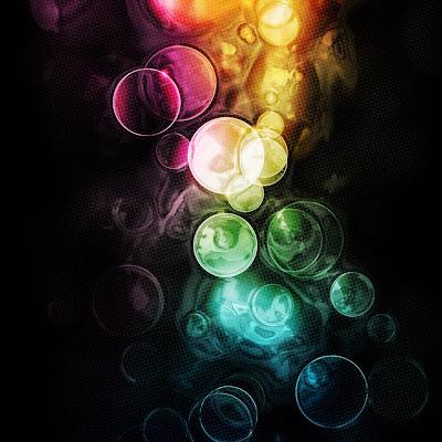 iPad Bubbles Wallpaper