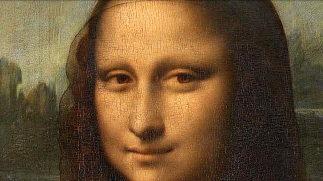 Ada Simbol Rahasia Tersimpan di Mata Lukisan Mona Lisa