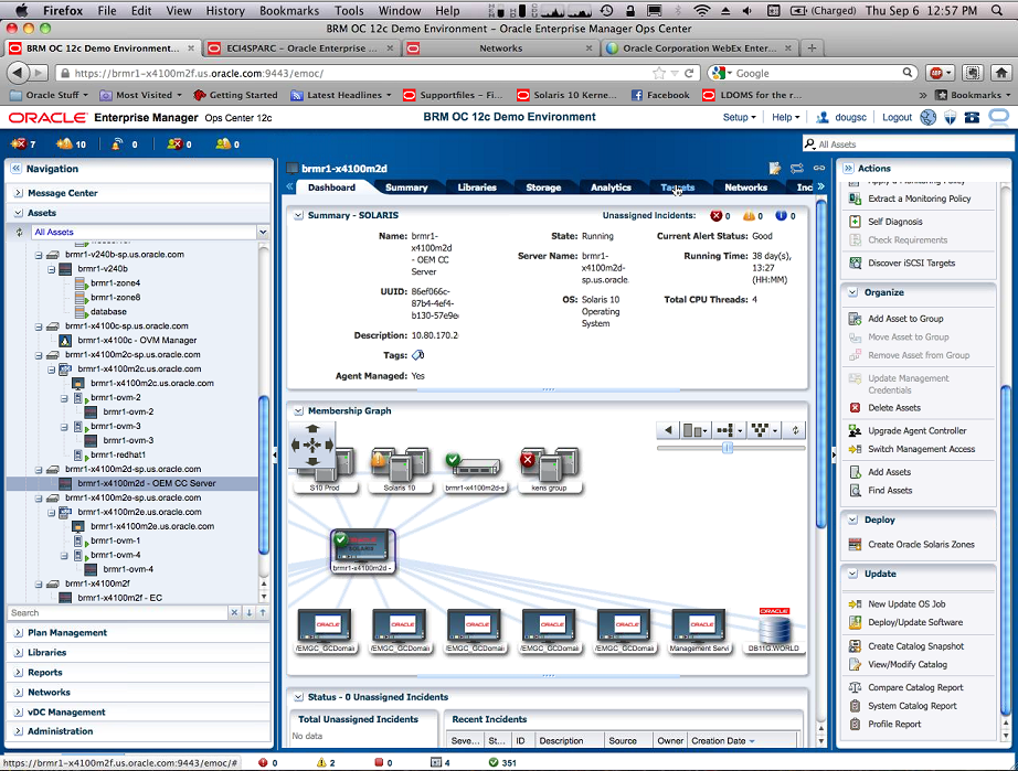 Oracle Enterprise Manager 12c Ops Center ~ DBA Consulting Blog