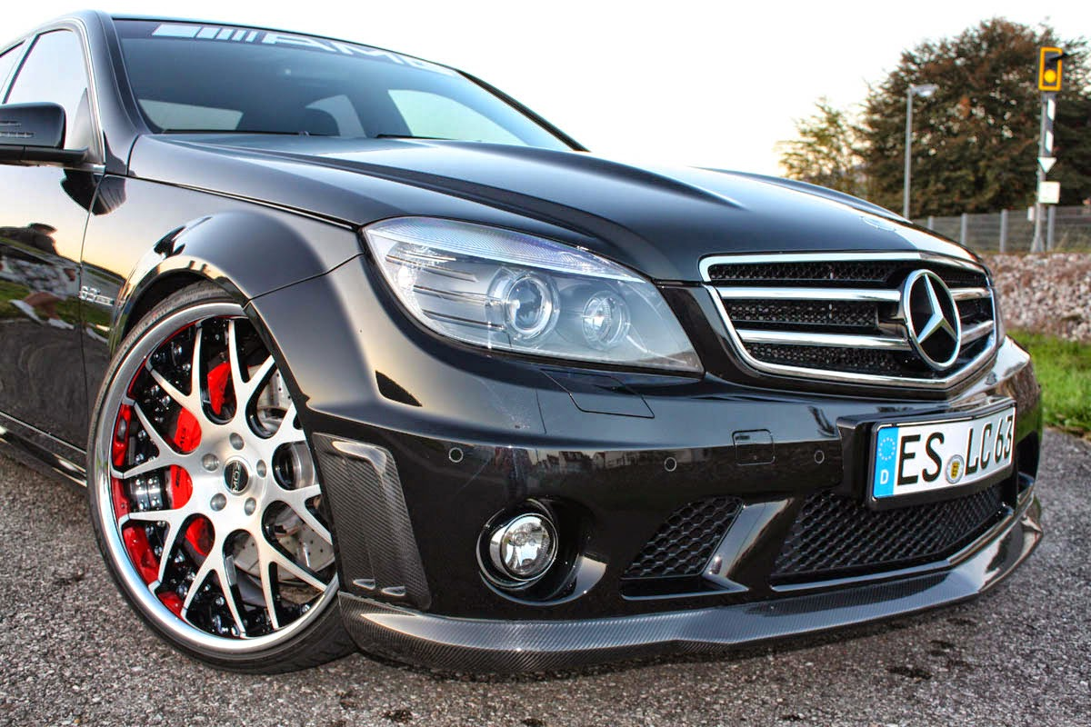 Mercedes benz c63 amg w204 on r20 moz wheels benztuning for Amg wheels for mercedes benz