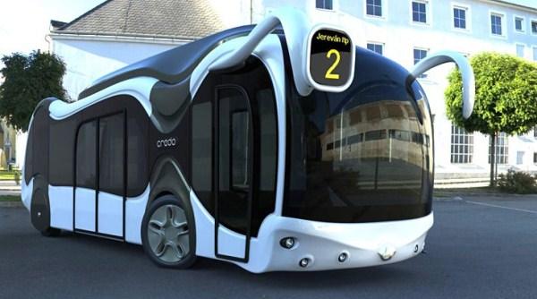 Credo E-Bone :  Bus Canggih, Futuristik & Ramah Lingkungan