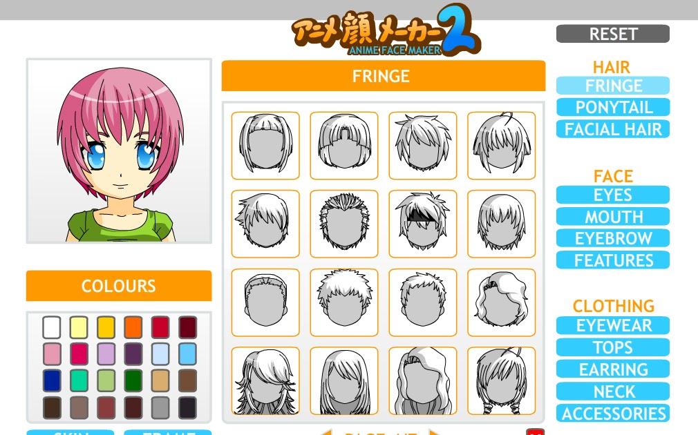 anime face maker avatar facebook