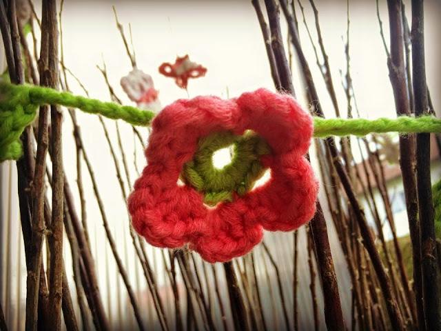 Ideenpiratin - Blumige Frühlingsdeko