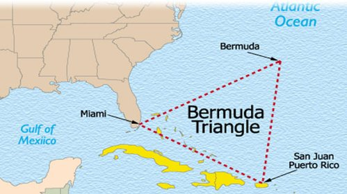 Burmuda triangle the biggest Unsolved Mysteries of the World