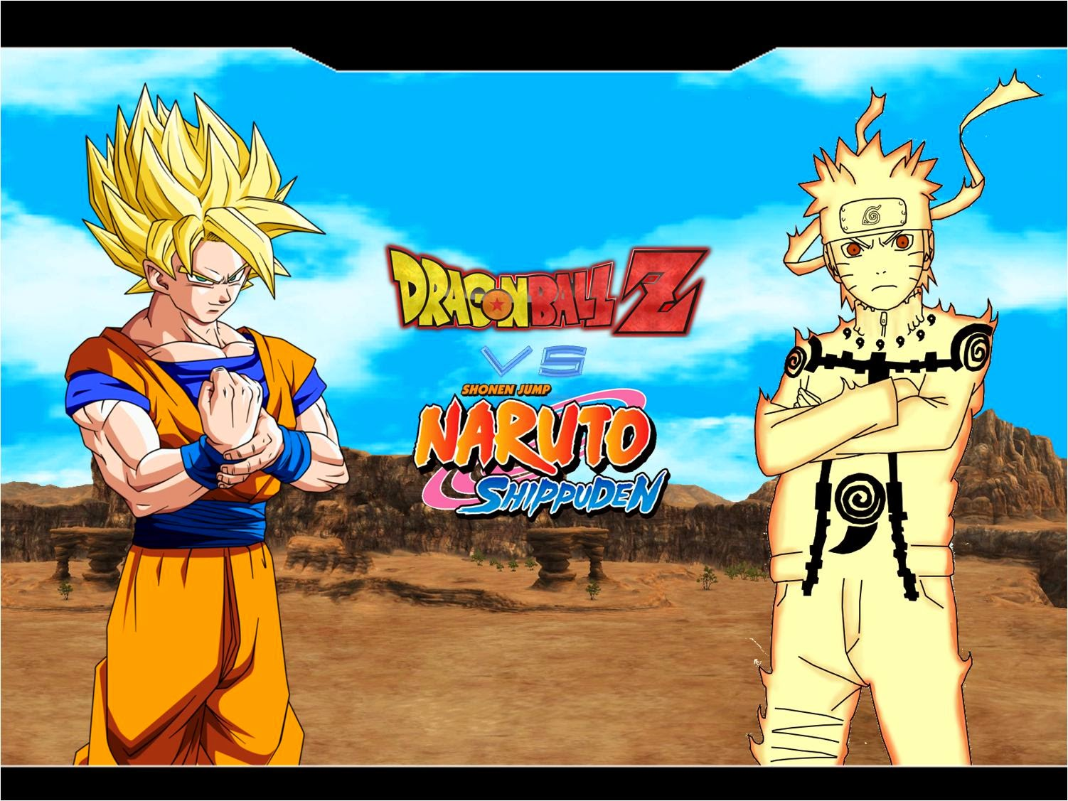 Dragon ball vs naruto 5
