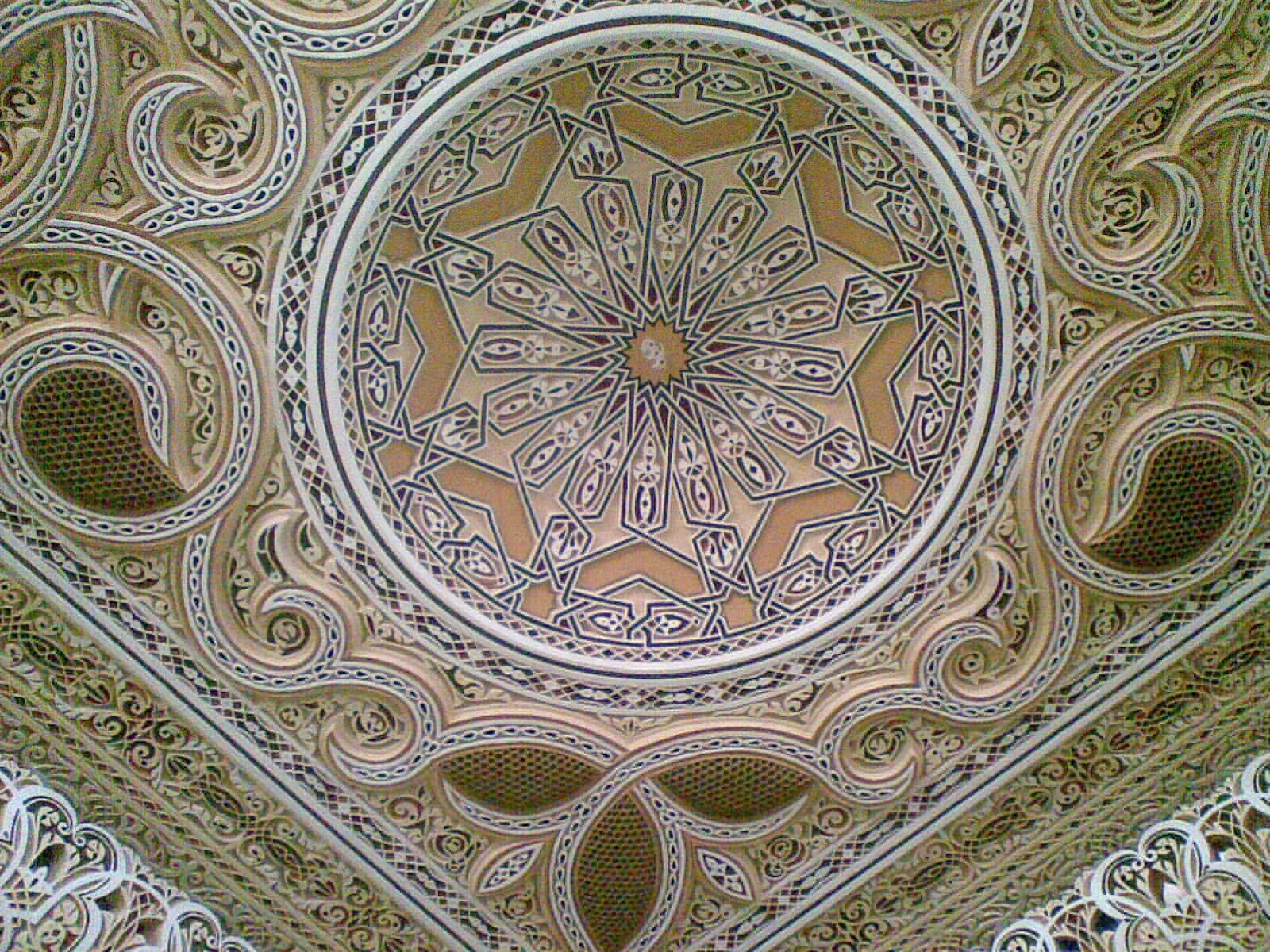 Tous les types de platre et de la d coration marocaine for Decoration gypse marocain