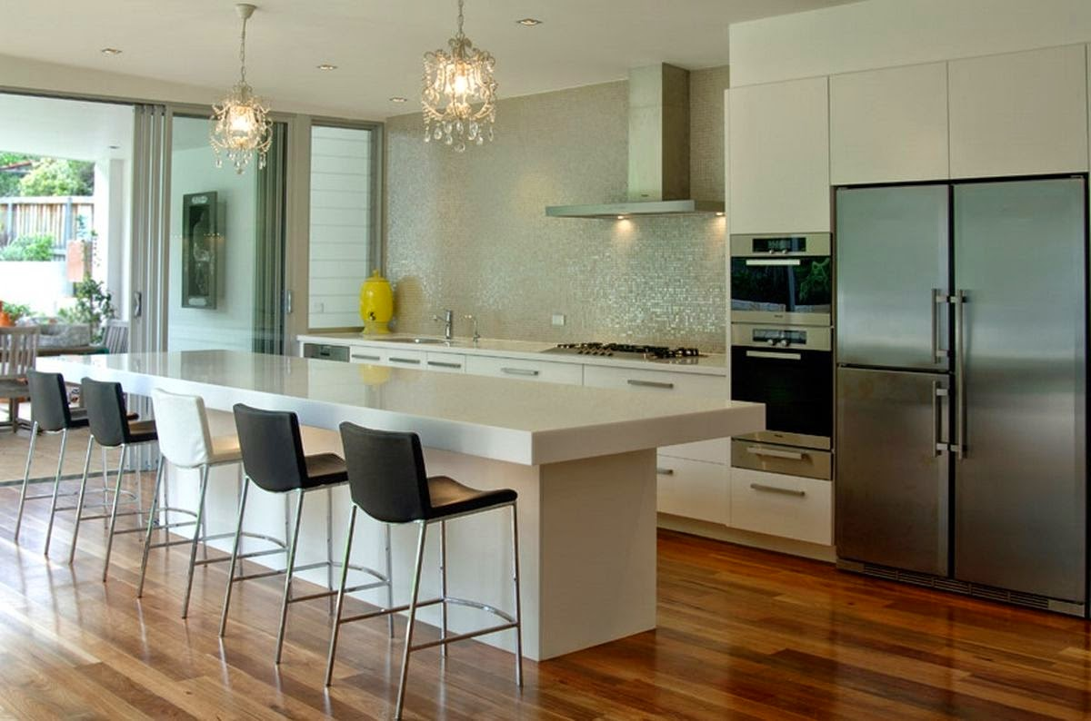 Remodelling modern kitchen design interior design ideas for Modern kitchen layout