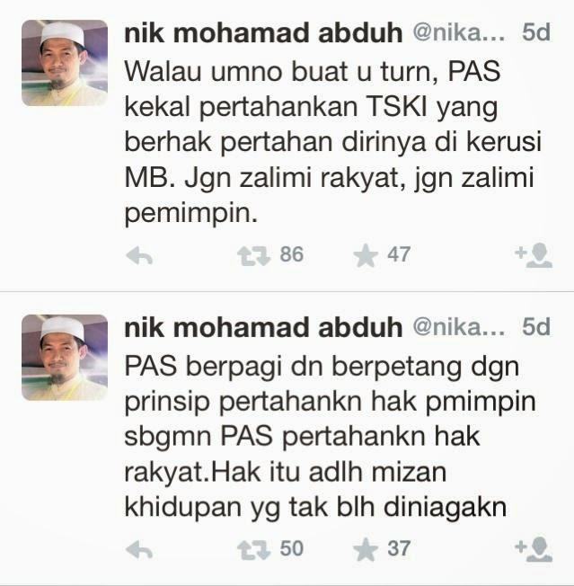 Apabila Si Pening nikabduh Cuba Tuduh UMNO Padahal Mat Sabu Yang U Turn LangkahKejung