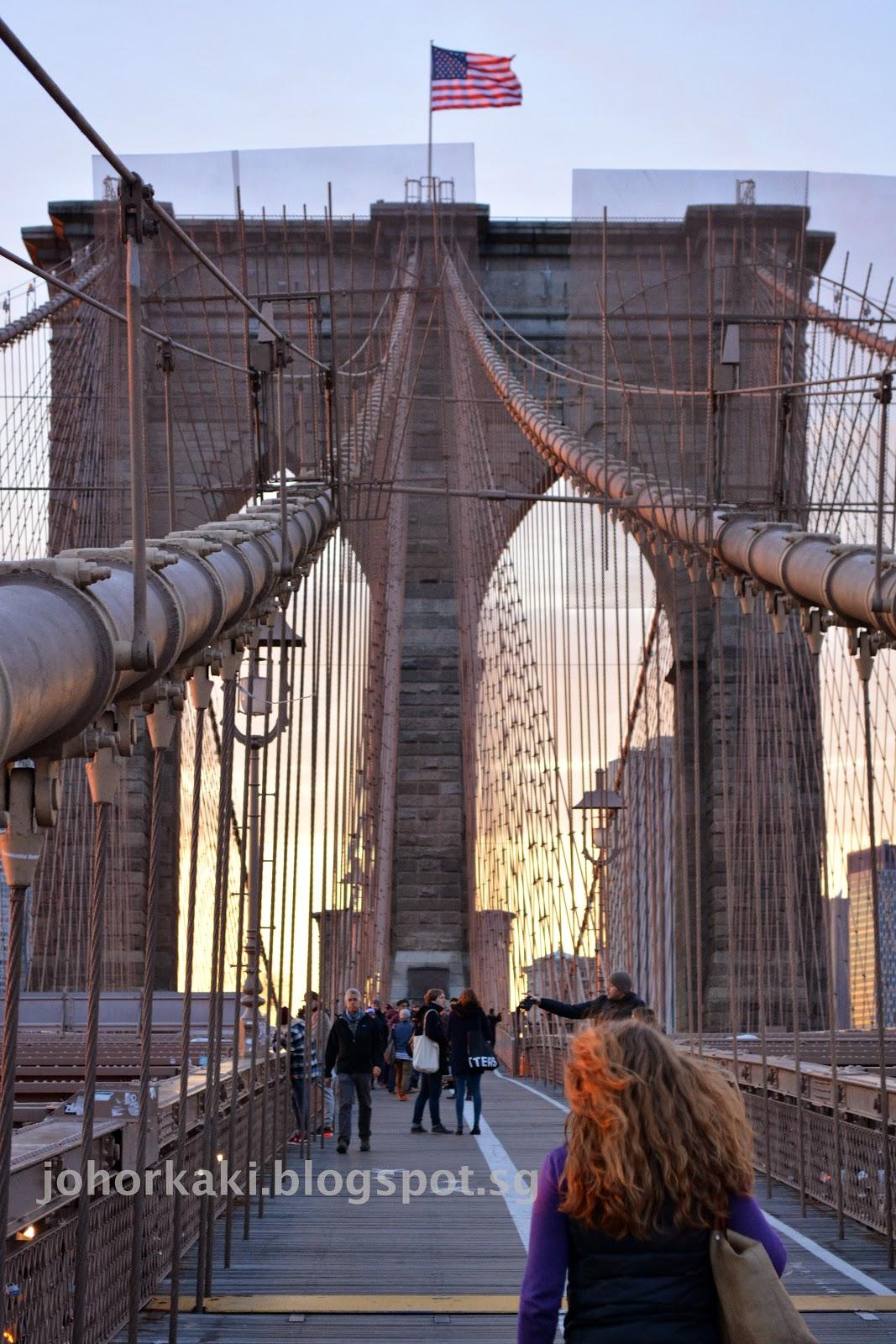 Brooklyn bridge best free things to do in new york city for Things to do near new york city