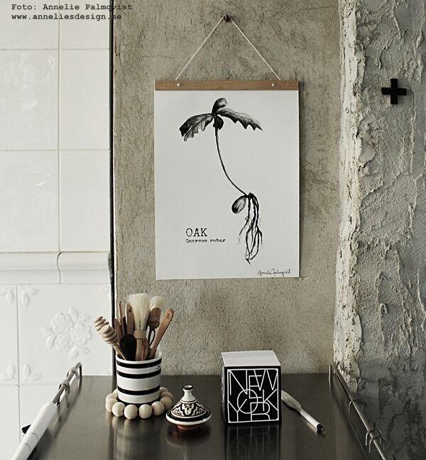 uppgradera dropbox, bilder tillgängliga överallt, fotografier, foto, köpa mer utrymme, oak, ekollon, konsttryck, inredning, inredningsdetaljer, svart och vitt, svartvit, svartvita tavlor, tavla, posters, prints, plakater, nettbutikk, nettbutikker, webshop, webbutik, webbutiker, murad vägg, murstock, kamin, kaminer, kök, köket, annelies design, posterhängare, hängare, hänga upp tavlor,