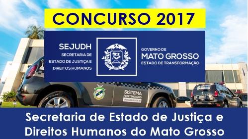 Apostila Concurso SEJUDH MT 2017