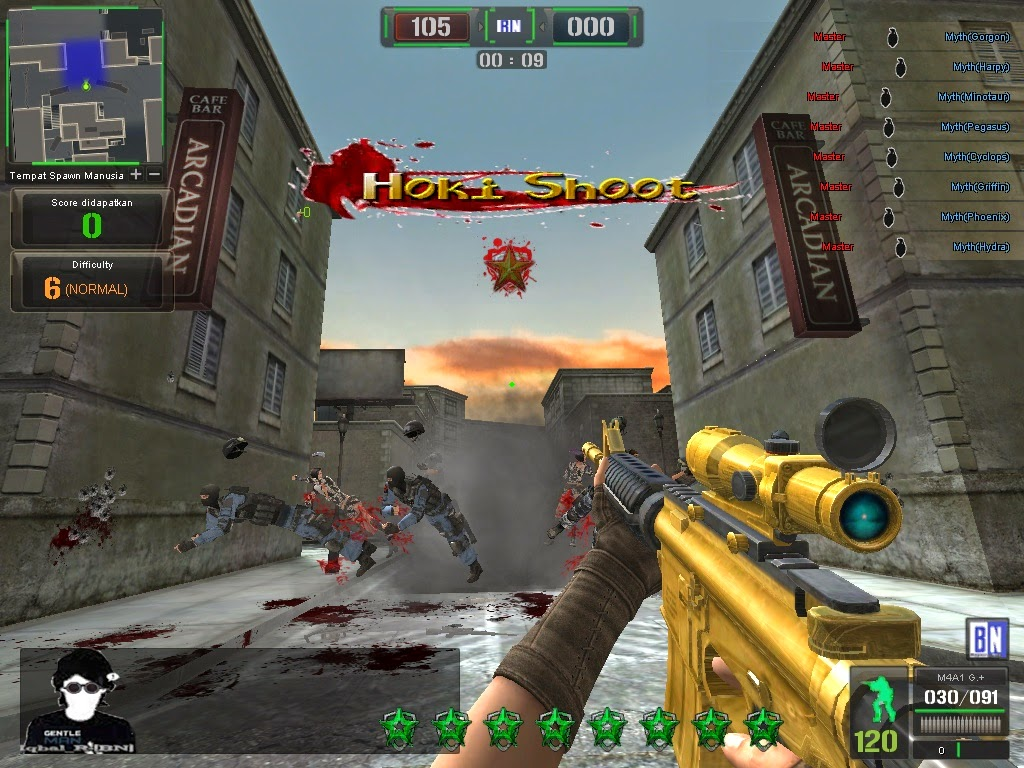 Counter Strike Point Blank Offline Full Update Serial Number screenshot by www.ifub.net