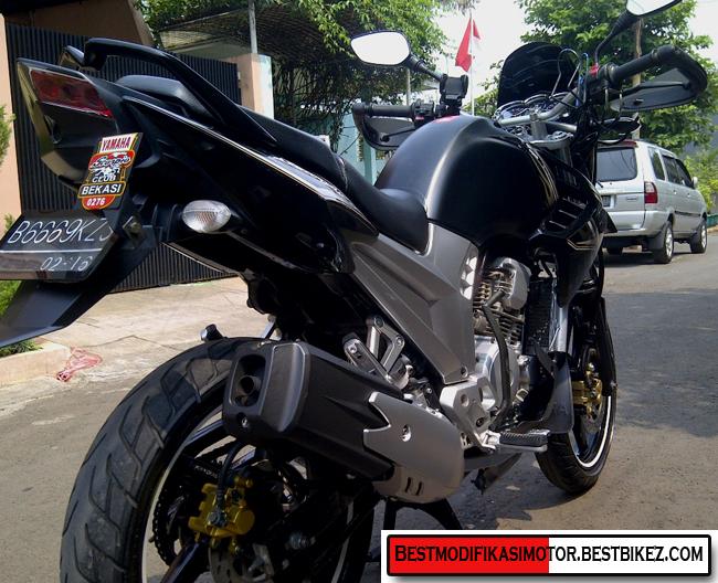 Spesifikasi Modifikasi Yamaha New Scorpio Z : title=